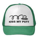 Funny golf hats   Kiss my putt