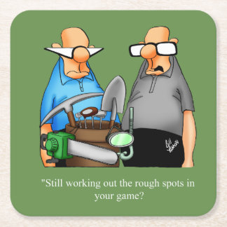 Funny Golf Humor Coaster Gift