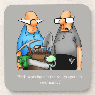 Funny Golf Humor Coaster Set Gift