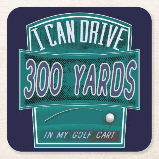 Funny Golf Joke Coaster