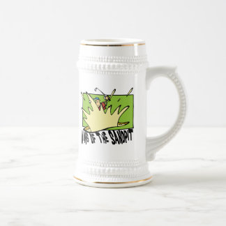 Funny Golf King of The Sandpit Beer Steins