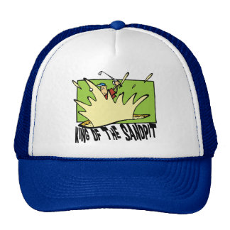 Funny Golf King of The Sandpit Cap