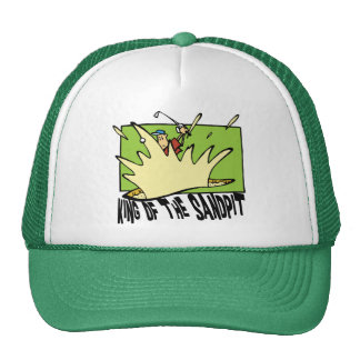 Funny Golf King of The Sandpit Hats