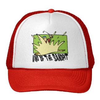 Funny Golf King of The Sandpit Mesh Hat
