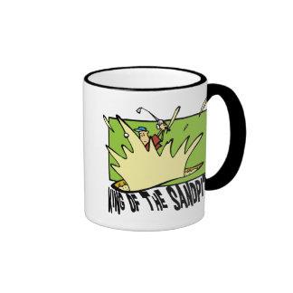 Funny Golf King of The Sandpit Mug