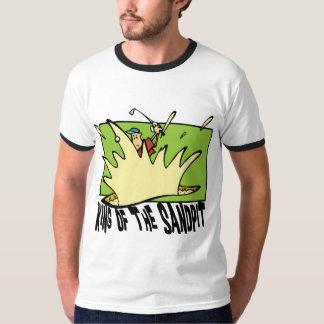 Funny Golf King of The Sandpit T-Shirt