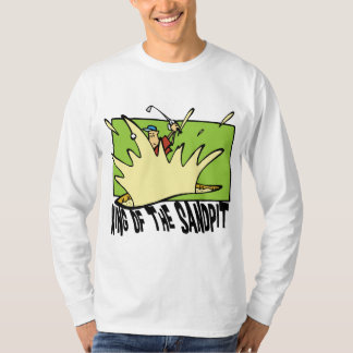 Funny Golf King of The Sandpit T-Shirt