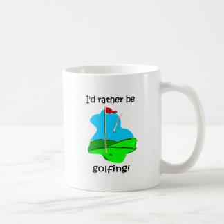 Funny golf coffee mugs