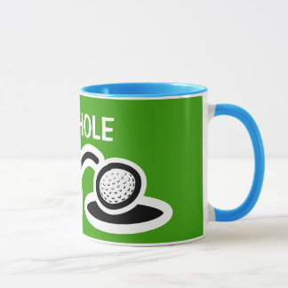 Funny golf mug | 19th hole