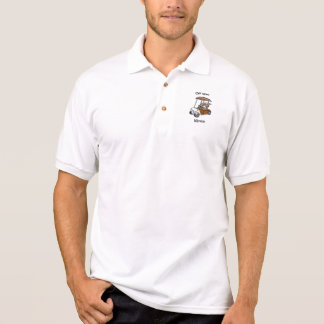 Funny golf polo shirt