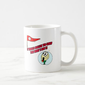 Funny Golf T-shirts Gifts Coffee Mug