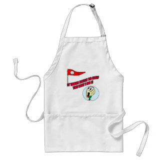 Funny Golf T-shirts Gifts Standard Apron