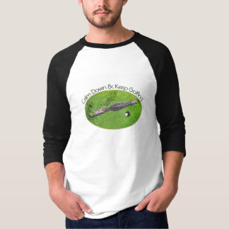 FUNNY GOLFER TSHIRT, CALM DOWN & KEEP GOLFING T-Shirt
