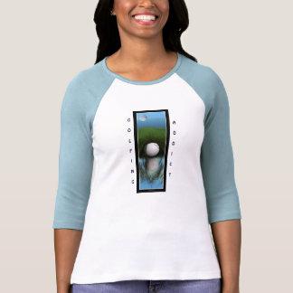 Funny Golfer's 3/4-sleeve Women's Shirt