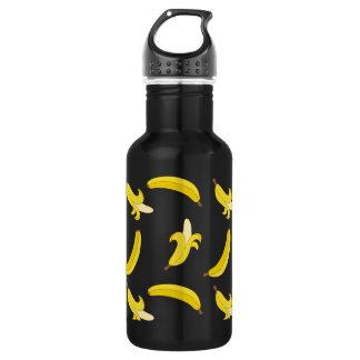 Funny Gone Bananas illustrated pattern 532 Ml Water Bottle