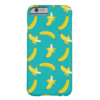 Funny Gone Bananas illustrated pattern Barely There iPhone 6 Case