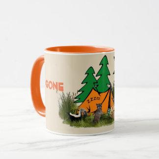 Funny Gone Camping Funny  Mug