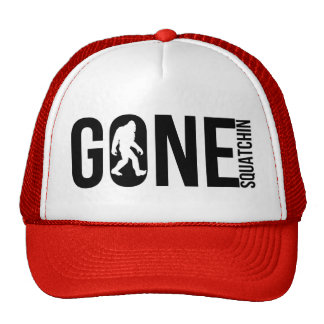 Funny Gone Squatchin Cap