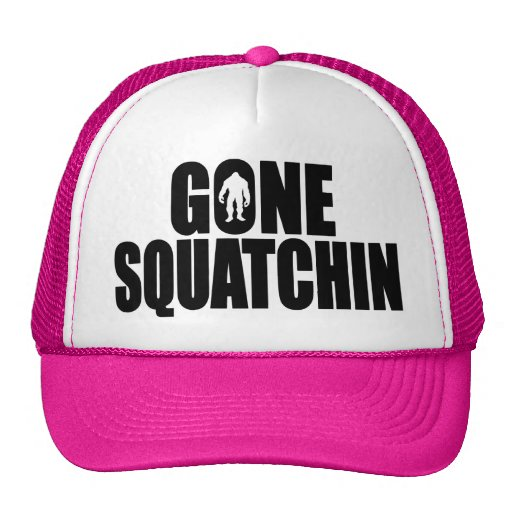 Funny GONE SQUATCHIN HAT - Special *BOBO* Edition