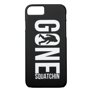 Funny Gone Squatchin iPhone 7 Case