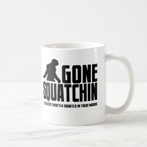 Funny GONE SQUATCHIN Sasquatch Coffee Mug