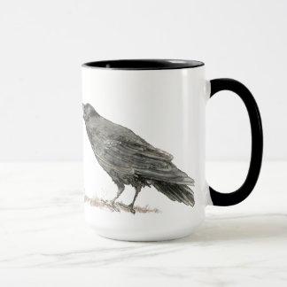 Funny Got Coffee, Where's Cake? Ravens Bird Mug