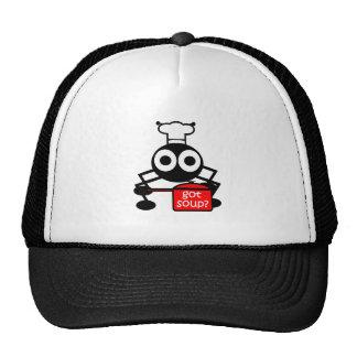 Funny got soup cap