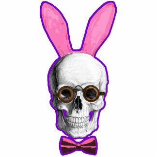 Funny Gothic bride skull Photo Cut Out