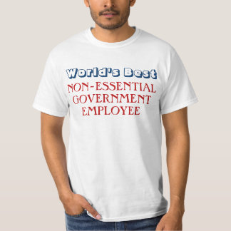 Funny Government Employee Shutdown T-Shirt