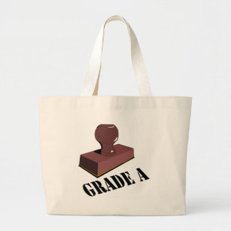 Funny Grade A T-shirts Gifts Canvas Bags
