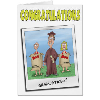 Funny Graduation Cards: Now get a Job Card