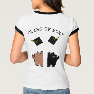 Funny Graduation Cats T-Shirt