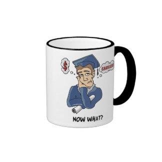 Funny Graduation Ringer Mug