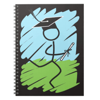 Funny Graduation Runner - Cross Country, Track Notebooks