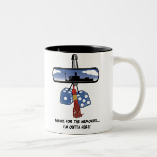 Funny Graduation Two-Tone Mug