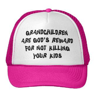 Funny Grandparents Gift Cap