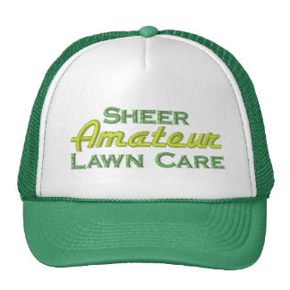 Funny Grass Cutting Cap