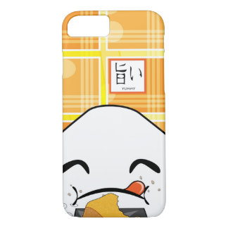 Funny Greedy Japanese Manga Onigiri iPhone 8/7 Case