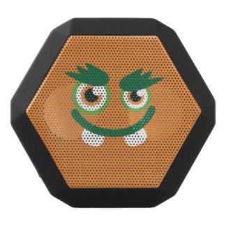 Funny Green-Eyed  Cute Monster. Black Bluetooth Speaker