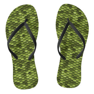 Funny Green Fish Scales Thongs