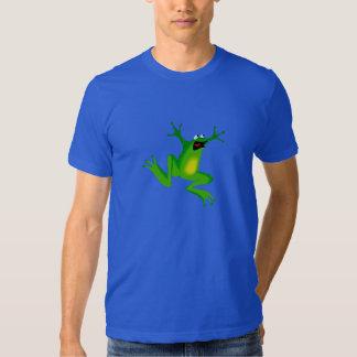 Funny Green Frog Mens T-Shirt