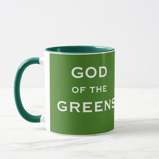 Funny Greenkeeper Gift Idea - Joke Golf Nickname Mug