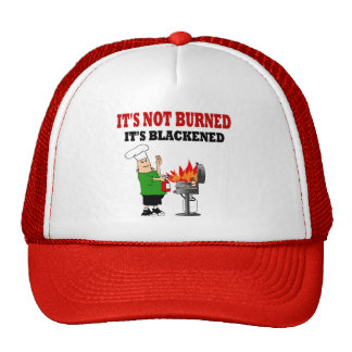 Funny  Grill Chef Trucker Hats