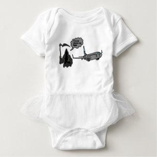 funny grim reaper baby bodysuit