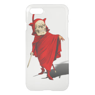 Funny Grim Reaper Skeleton iPhone 7 Case