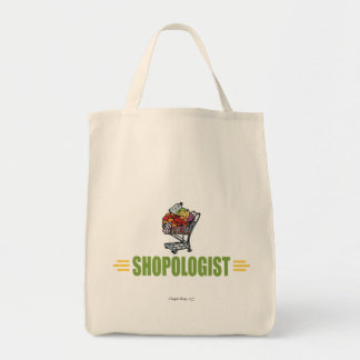 Funny Grocery Shopping Grocery Tote Bag