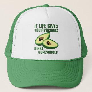 Funny Guacamole Avocado Joke Trucker Hat