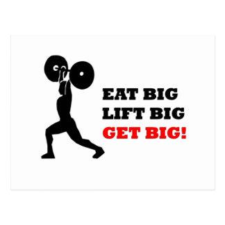 Funny Gym Design Postcard