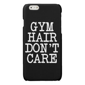 Funny Gym hair don't care phone case