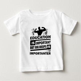 Funny Gym Sayings Baby T-Shirt